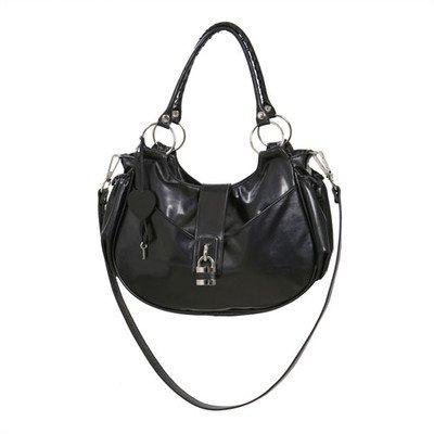 Alisa Tote Diaper Bag Color: Black Shadow