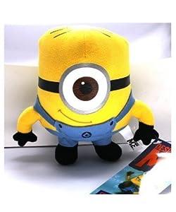 WAWO Despicable Me Minion Stewart Plush Figure Cartoon Toy- Cute Design For Child