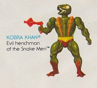 Buy Low Price Mattel Vintage 1980s Masters of the Universe Kobra Khan Action Figure MOTU 100% Complete (B0046BF8Q0)
