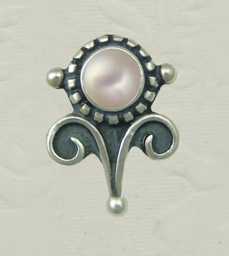 A Beautiful Pair of Baroque Inspired Earrings Featuring Pearl