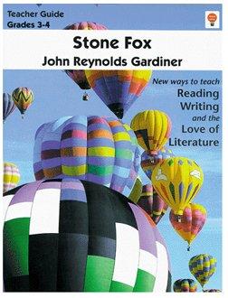 Stone Fox- Teacher Guide by Novel Units, Inc. (Literature Unit Stone Fox compare prices)