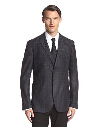 Valentino Men's Check Blazer