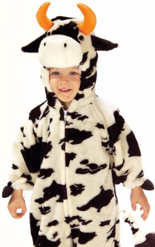 Toddler and Child Little Moo Cow Costume