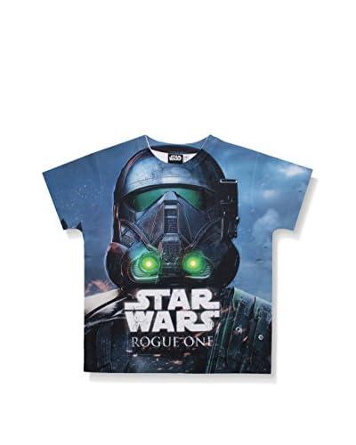 Star Wars Camiseta Manga Corta Death Trooper Head Shot