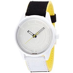 [キューアンドキュー スマイルソーラー]Q&Q SmileSolar 腕時計 ホワイト×ツートン RP00J010