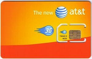 AT&T SIM-Karte (USA) - US-amerikanische Rufnummer