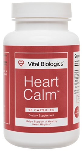 Heart Calm- A Natural, Fast-Acting Formula Designed to Help Support and Maintain a Healthy Heart Rhythm. 90 Capsules.