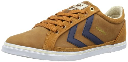 Hummel Unisex - Adult HUMMEL GAME PREMIUM LOW Low-Top Orange Orange (GLAZED GINGER 8198) Size: 44