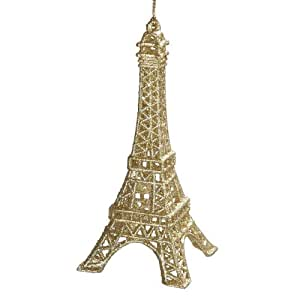 Kurt Adler Eiffel Tower Christmas Ornament