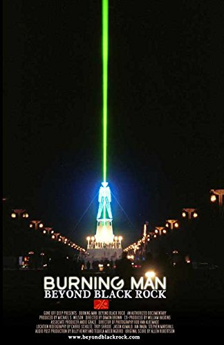 Burning man beyond black rock c poster 11 x 17 for Dujardin salomone
