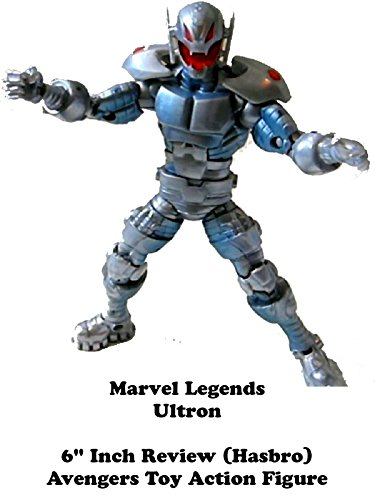 "Marvel Legends ULTRON 6"" inch toy review (Hasbro) Avengers action figure"