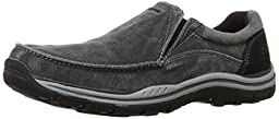 Skechers USA Men\'s Expected Avillo Relax Fit Slip-On Loafer,Black,10 M US