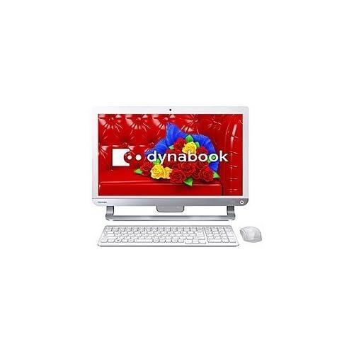 東芝 デスクトップパソコン dynabook D614/54LW(Microsoft Office Home and Business 2013搭載) PD61454LBXW