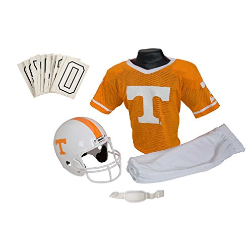 Franklin Sports Ncaa Tennessee Volunteers Deluxe Youth Team Uniform Set, Medium