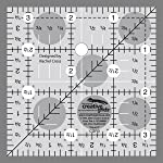 "Creative Grids Quilting Ruler 3 1/2"" Square"