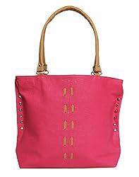 Glory Fashion Women's Stylish Handbag Pink BB-001-B015