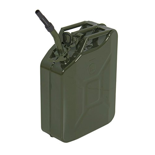Best Choice Products SKY1705 Jerry Can Gas Caddy Tank (5 Gal 20L, Gasoline Gas Fuel Can Emergency Backup) (Military Jerry Can compare prices)