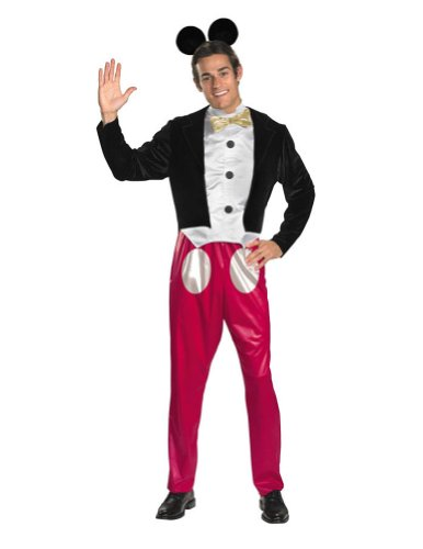 Adult-Costume Mickey Mouse Adult Costume 42-46 Halloween Costume