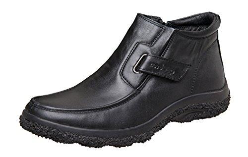 DSS Jeep Men's Business Genuine Leather Shoes Short Boots