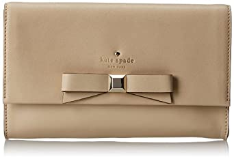 kate spade new york Holly Street Remi Clutch,Ostrich Egg,One Size