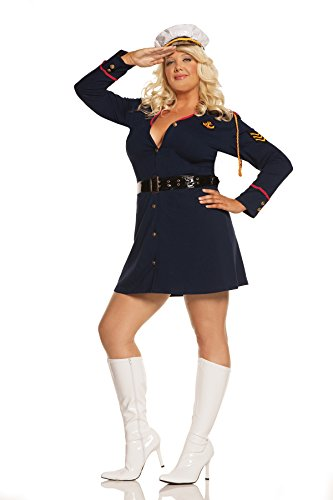 The Gentlemans Officer Halloween Roleplay Costume 3pc Set