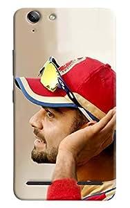 Omnam Virat Kohli Listening Printed Designer Back Cover Case For Lenovo Vibe K5 Plus