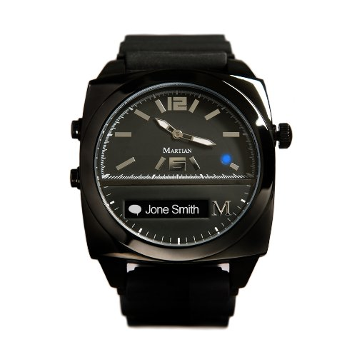 Martian Watches Victory Black