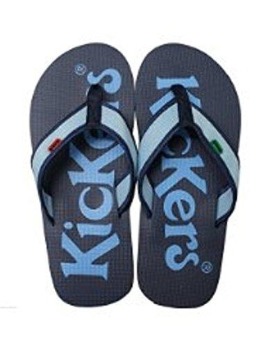 Kickers Klassic Kick Da Uomo Unisex Infradito Blu scuro/blu - Blu/ Marina, Eu 40-41