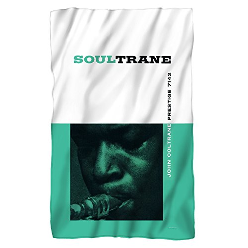 Concord Music Soul Trane John Coltrane Sublimation Fleece Blanket