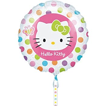 Set A Shopping Price Drop Alert For Hello Kitty Spots 18 Inch Foil Balloon