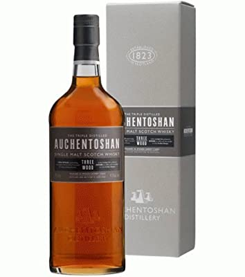 Auchentoshan Three Wood Single Malt Whisky 5cl Miniature by Auchentoshan