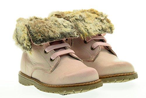 NERO GIARDINI JUNIOR boot con pelliccia A621930F/656 24 Rosa