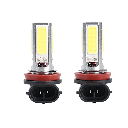 Junadel 2x 6000K High Power 20W H8 H11 COB LED Fog Driving Headlight Light Lamp Bulb White (Led H11 Headlight Bulb 20w compare prices)