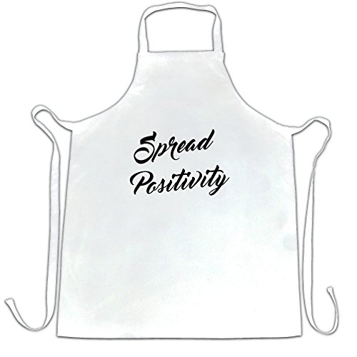 Spread Positivity Festival Vibes Happiness Summer Apron (Happiness And Positivity compare prices)