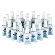 PURELL 9648-24 Instant Hand Sanitizer with Dermaglycerin System, 2 oz Pump Bottle (Case of 24)