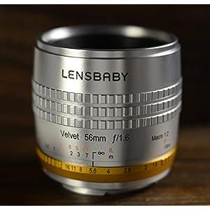 Lensbaby ソフトレンズ Velvet 56 56mm Limied Edition F1.6 キヤノン用 フルサイズ対応