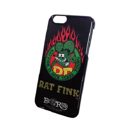 グルマンディーズ RAT FINK iPhone6対応 シェルジャケット ブラック RF-13C