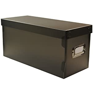 boite rangement box range cd dvd trieur courrier fiches. Black Bedroom Furniture Sets. Home Design Ideas