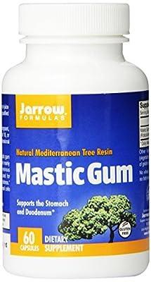 Jarrow Formulas Mastic Gum, 500 mg, 60 Count (Pack of 3)