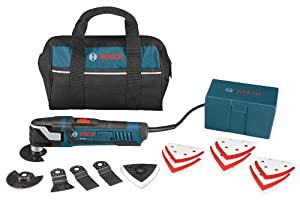 Bosch MX30EC-21 Multi-X 3.0 Amp Oscillating Tool Kit with 21 Accessories