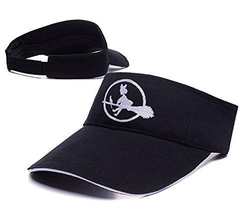 [LIFA Kikis Delivery Service Sun Cap Embroidery Golf Visor Hat] (Costume Top Hats Brisbane)