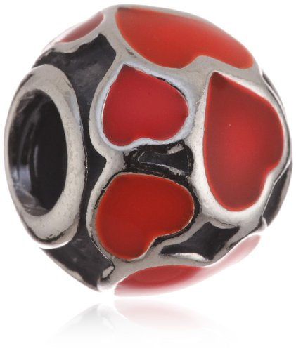 Pandora (Box Not Included) Charm red hearts 79436ER