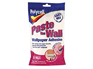 Sikkens PLCPTWPA5R Polycell Paste Wall Powder Adhesive (5 Rolls) from Sikkens