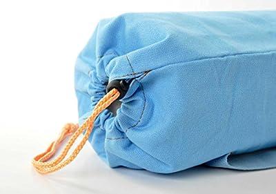 Yogatasche »VikramÂ« von #DoYourYoga aus hochwertigem Canvas (Segeltuch), aufwendig verarbeitet, für Yoga- und Pilatesmatten bis zu einer Größe von 186 x 63 x 0,6 cm, in wunderschönen Farben erhältlich.