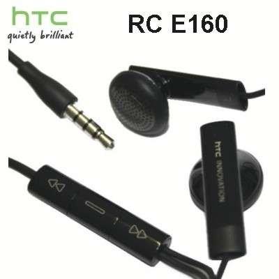 HTC RC E160 Stereo Headset, colore: Nero