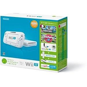 Wii U すぐに遊べるファミリープレミアムセット+Wii Fit U(シロ)(バランスWiiボード非同梱)