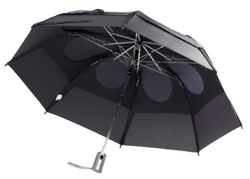 GustBuster Metro 43-Inch Automatic Umbrella, Black