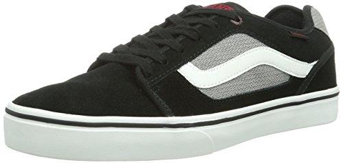 Vans Torer Herren Sneaker, Mehrfarbig (Black/Red), 38 EU