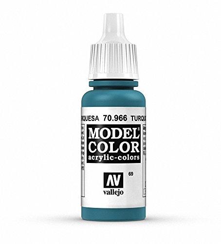 Vallejo Turquoise Paint, 17ml
