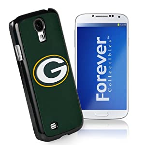 Forever Collectibles Green Bay Packers Team Logo (Black Borders) Hard Snap-On Samsung Galaxy S4 Case